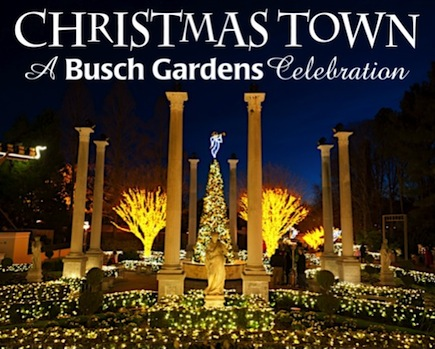 Discovery Ticket To Christmas Town At Busch Gardens In