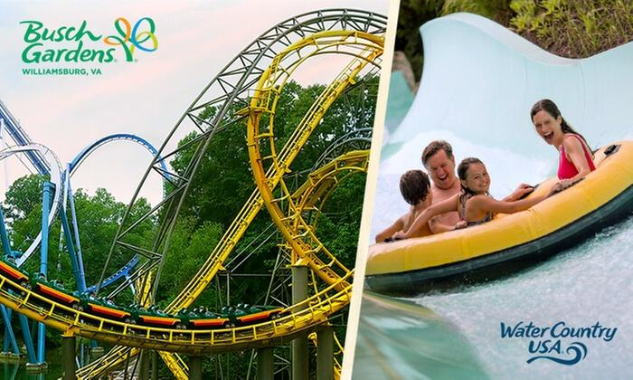 Deal: 3-Day Ticket to Busch Gardens Williamsburg and Water Country ...