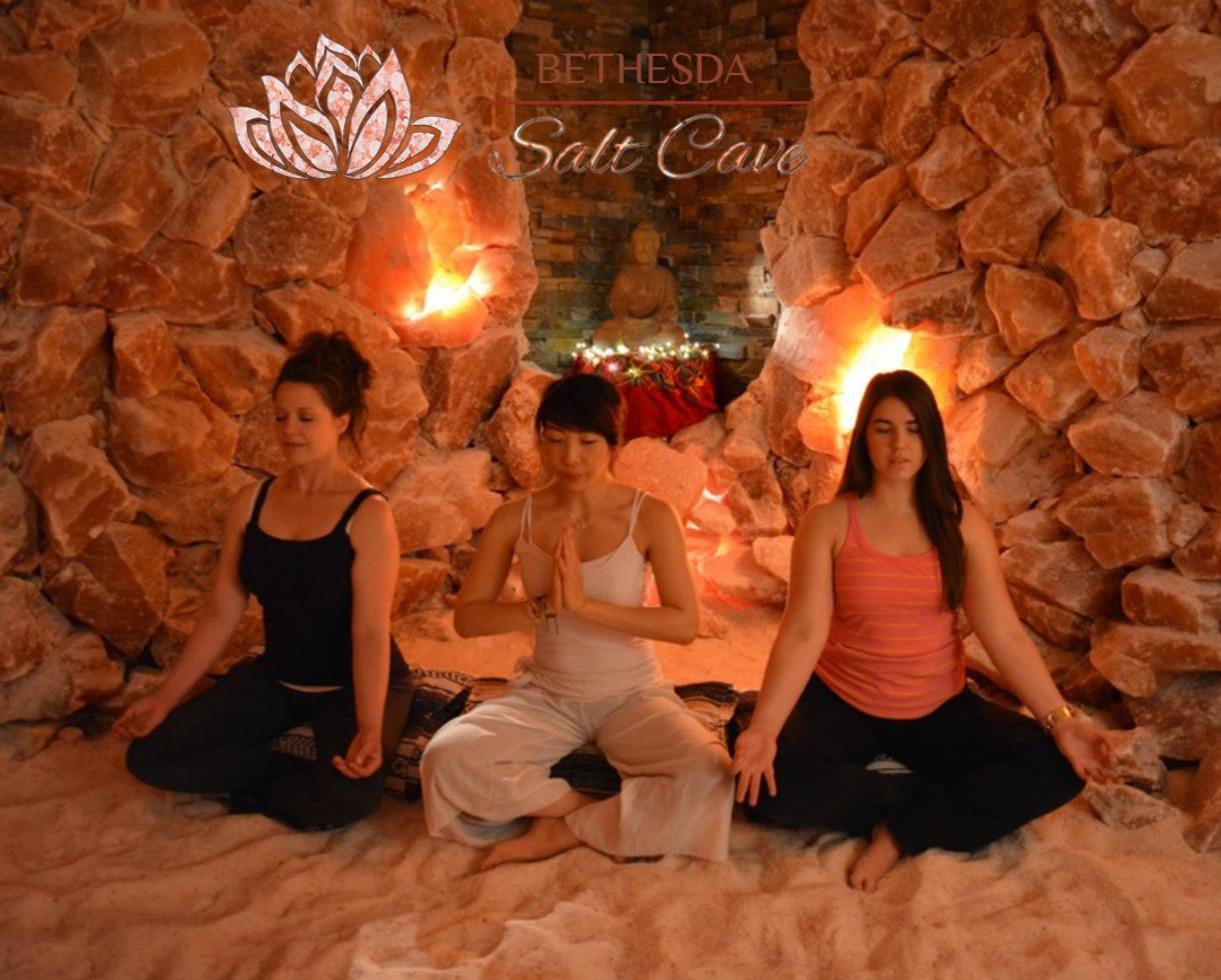 Deal 20 For Salt Therapy Session At Bethesda Salt Cave