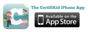 The CertifiKID iPhone App