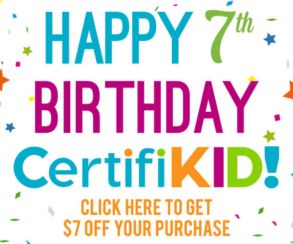 It's our 7th birthday! Click here for a promo code!