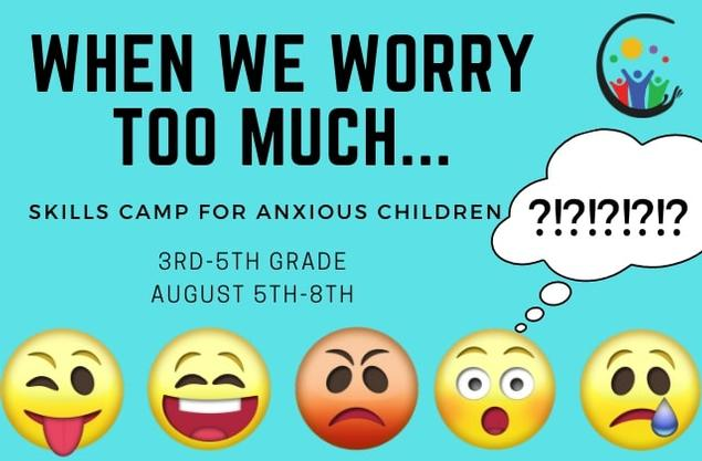 Expressive Therapy Center- When We Worry: A Camp for Managing Anxiety