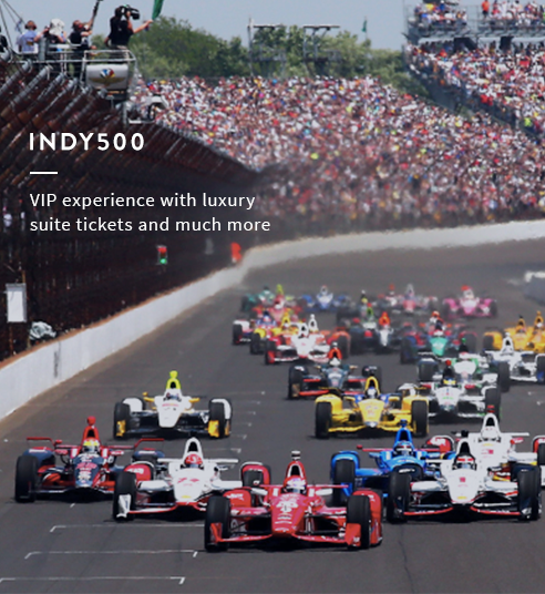 Indy500 VIP Experience: 4 Suite Tickets, 4 VIP Tickets to Sam Hunt Concert & More