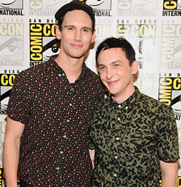 Robin Lord Taylor & Cory Michael Smith