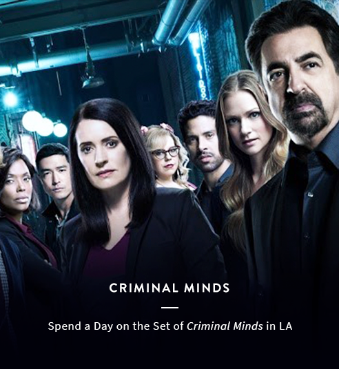 Spend a Day on the Set of Criminal Minds in LA