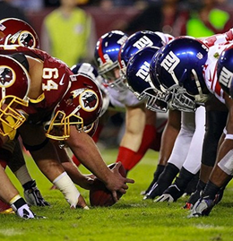 NY Giants vs Washington Redskins Game