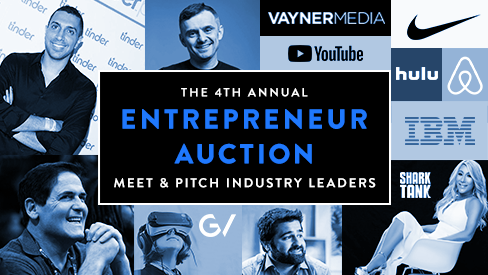 The Entrepreneur Auction