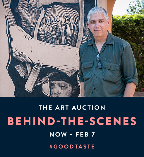 Art Auction 2019, Behind the Scenes