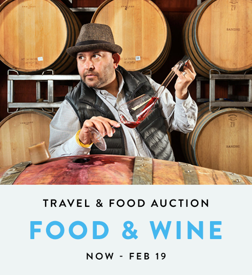 Food & Wine- Travel Auction