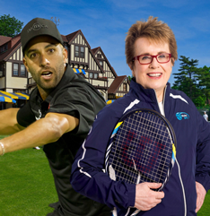 Billie Jean King & James Blake