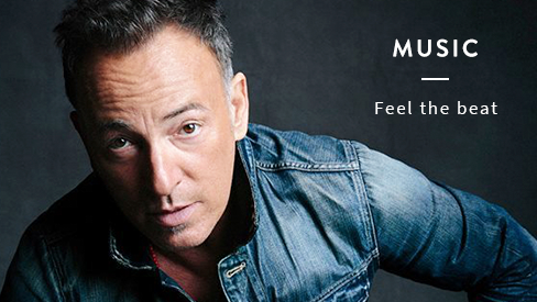 Music Theme - Featuring Bruce Springsteen Image