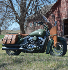 Custom Indian Scout Motorcycle