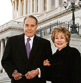 Bob & Elizabeth Dole at Hay Adams