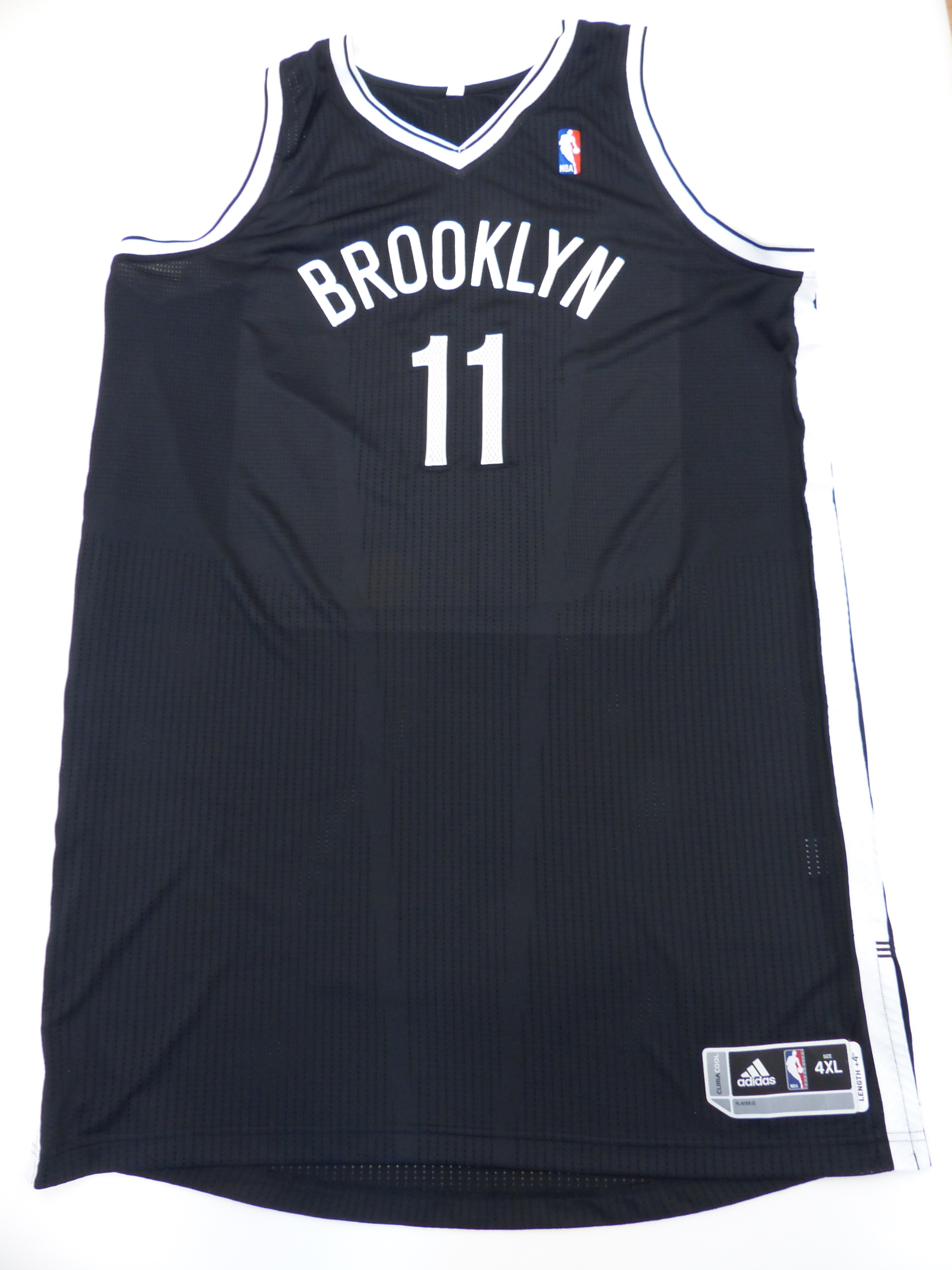 on sale a90d8 c738f Brook Lopez Authentic Autographed Brooklyn Nets Jersey