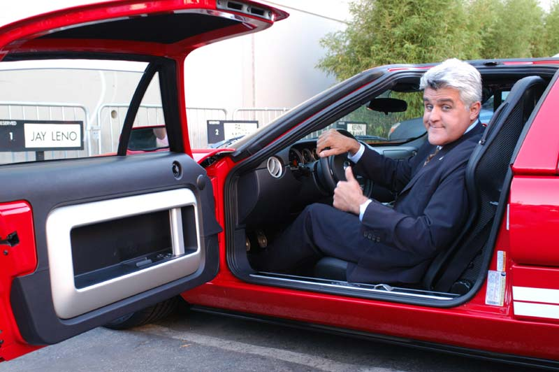 charitybuzz tour jay leno 39 s famous car collection lot. Black Bedroom Furniture Sets. Home Design Ideas