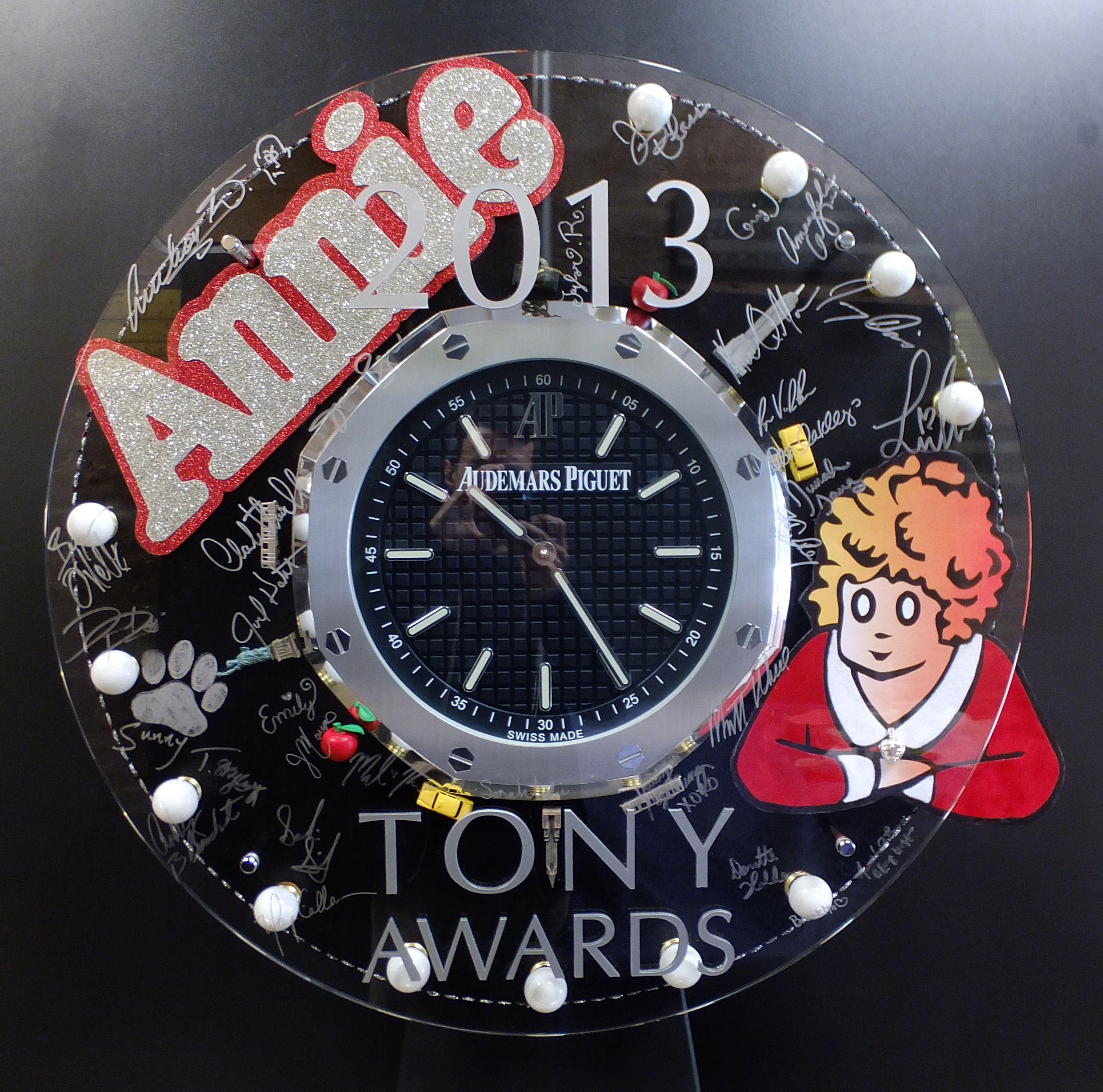 Charitybuzz Audemars Piguet Autographed Annie Wall Clock Lot 363022