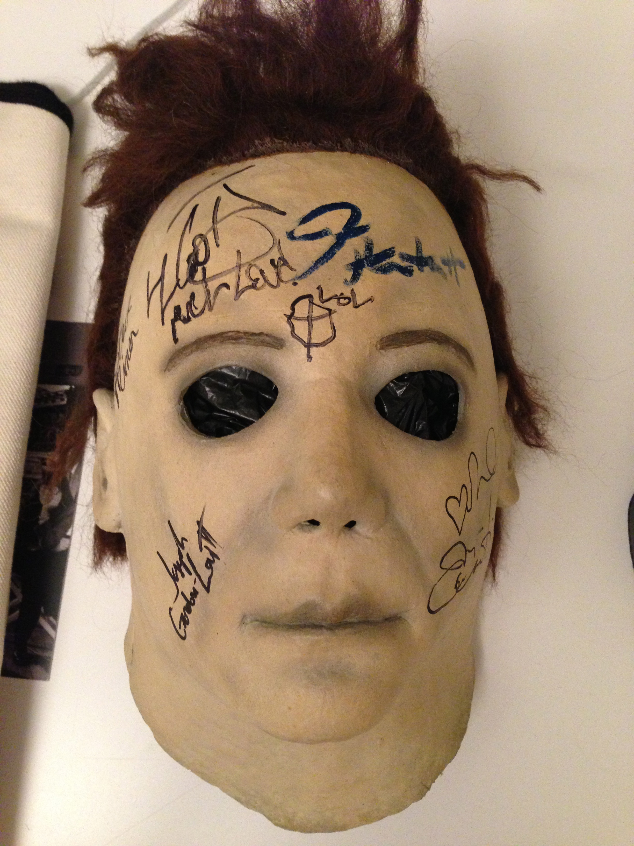 Charitybuzz: Jamie Lee Curtis' Authentic Michael Myers Mask Used ...