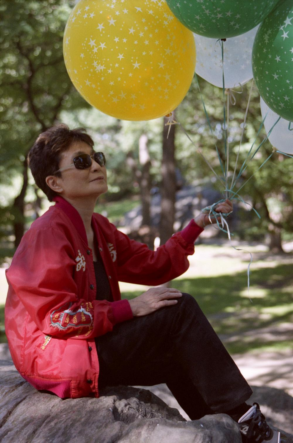 Charitybuzz Stroll Through Strawberry Fields With Yoko Ono Lot 113699
