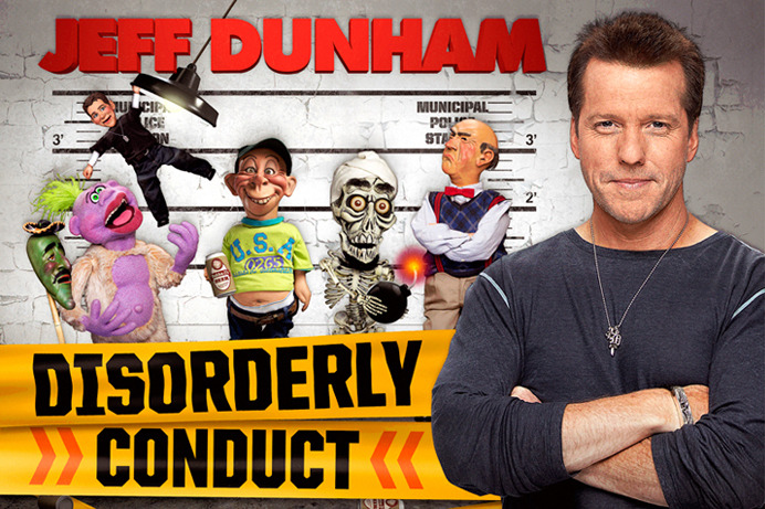 Charitybuzz: 4 Tickets to See Jeff Dunham LIVE &