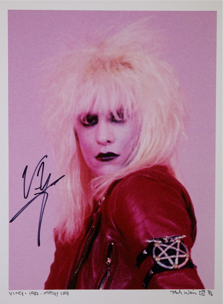 Charitybuzz Vince Neil Of M 246 Tley Cr 252 E 1982 Limited