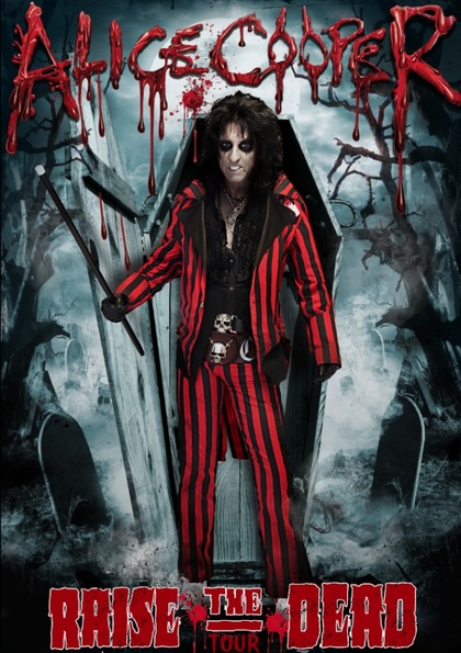 Alice Cooper Raise The Dead Tour