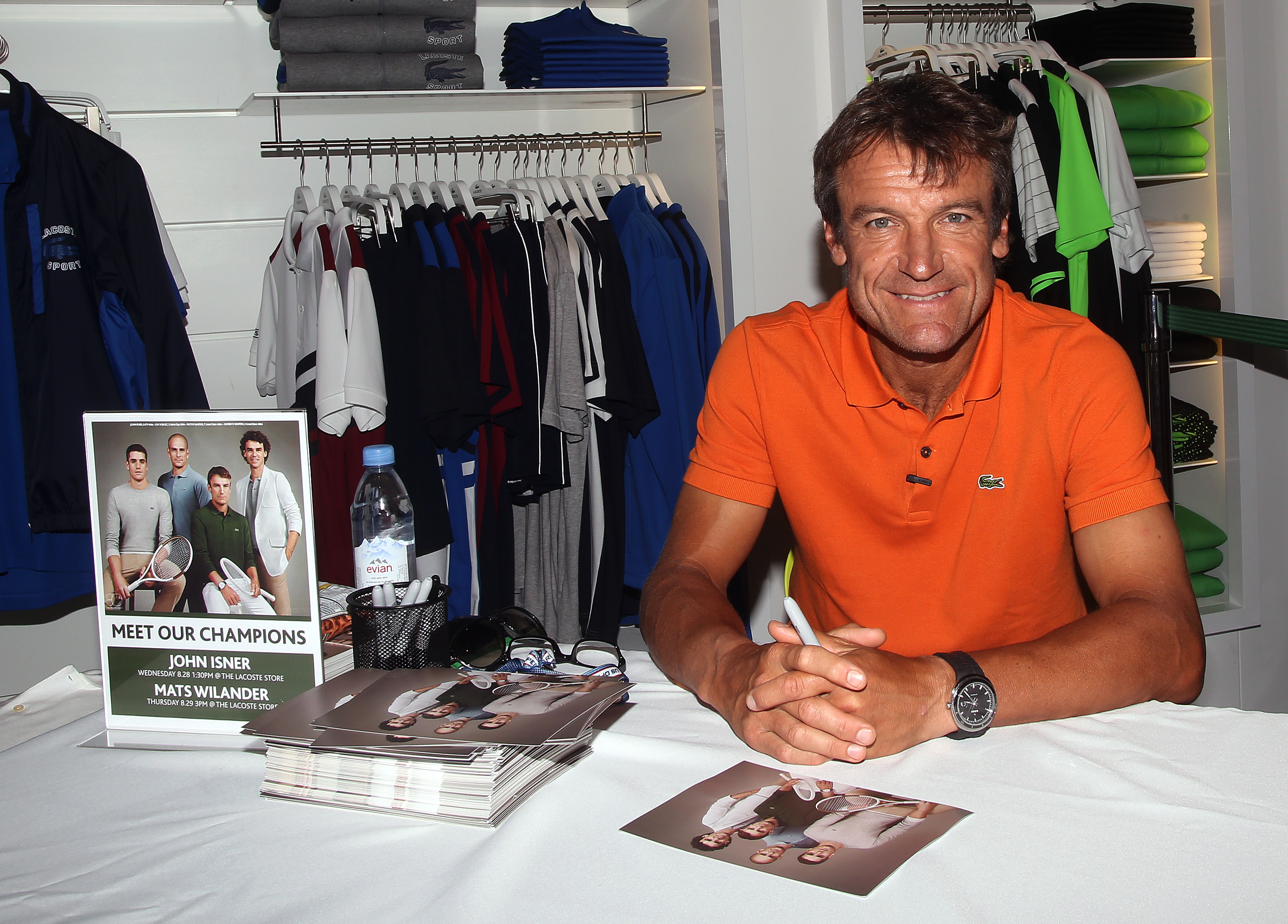Charitybuzz Play Tennis with Mats Wilander and 2 VIP Tickets to 1