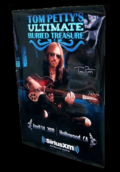 Charitybuzz Tom Petty Limited Edition Poster And Greatest