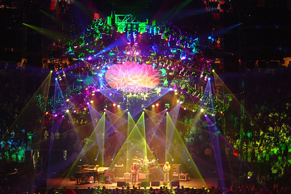 Charitybuzz 4 tickets to see phish at madison square - Phish madison square garden tickets ...