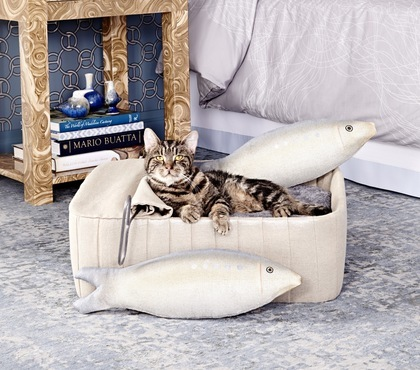 Charitybuzz One Of A Kind Cat Bed Designed By Harry