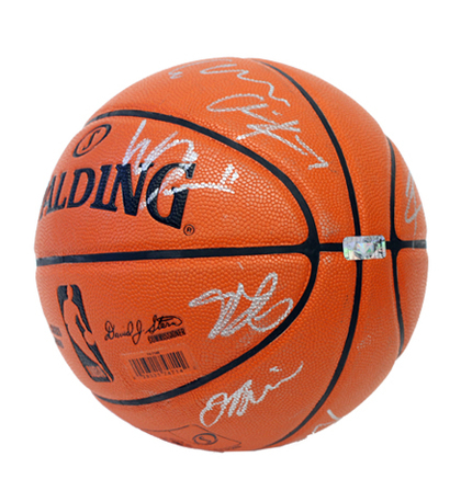Charitybuzz  Basketball Signed by 2013-2014 Los Angeles Lakers Team ... 2ab6f1b98