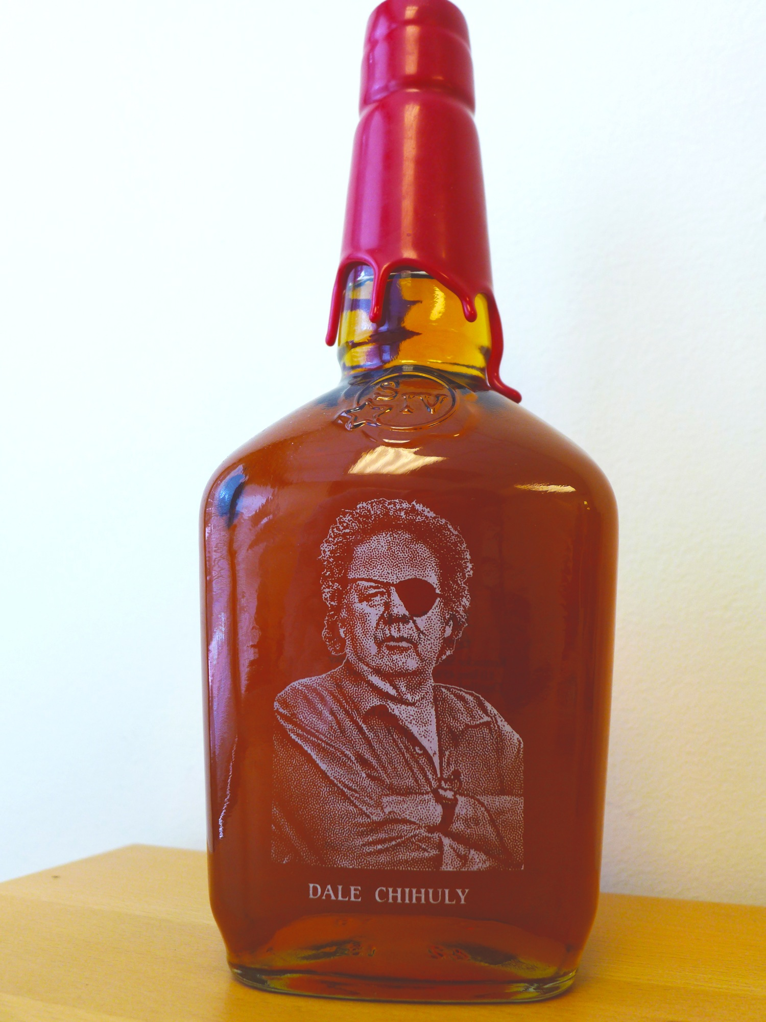 Charitybuzz Personalized And Hand Etched Bottle Of Maker