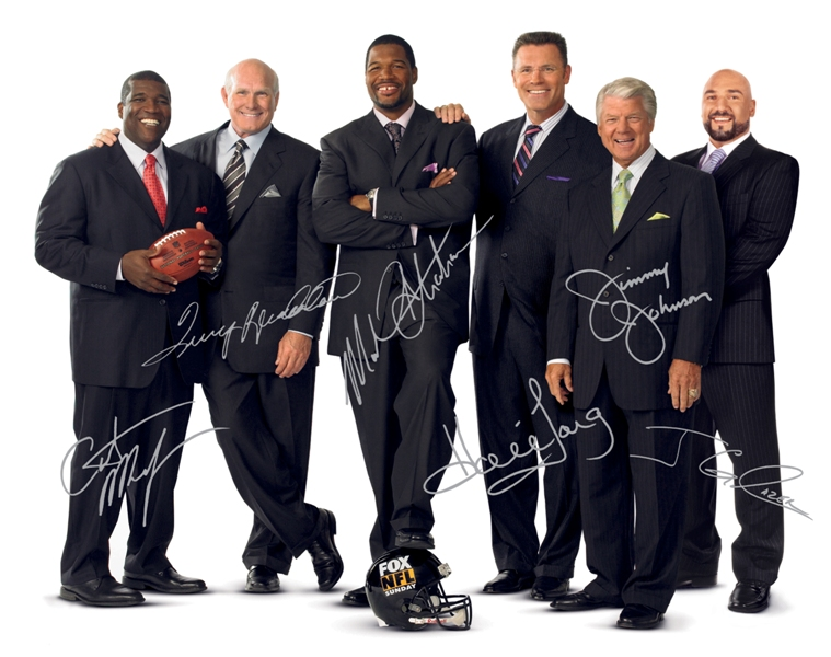 Charitybuzz Vip Visit For 2 People To Fox Nfl Sunday Lot 1410056