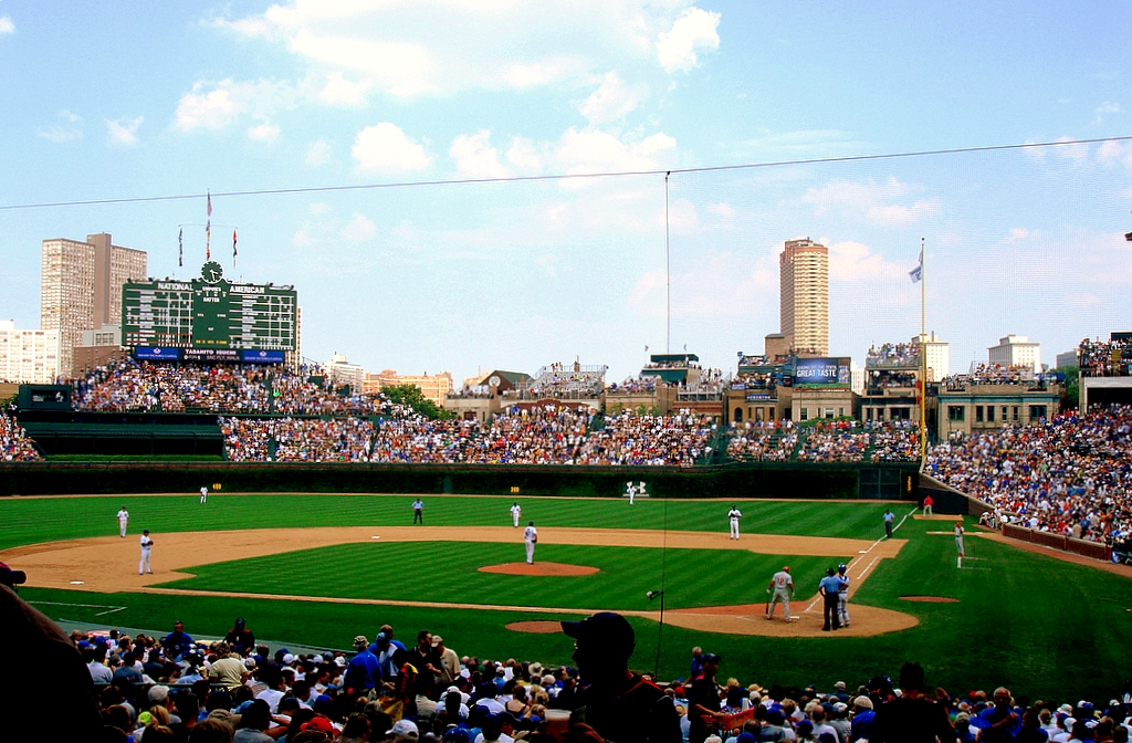 Two Field Box Infield Tickets To Chicago Cubs Vs San Charitybuzz
