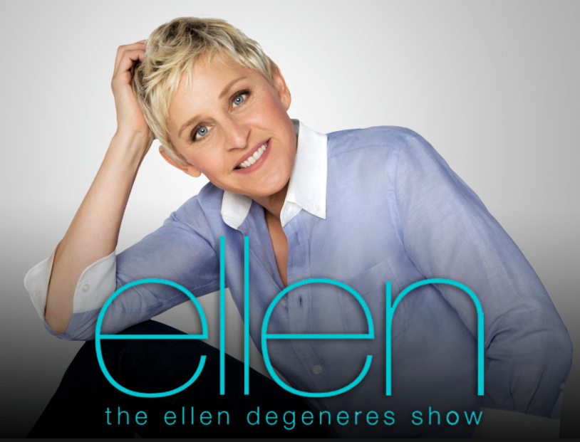 charitybuzz 2 vip tickets to a live taping of the ellen degeneres sho lot 538610. Black Bedroom Furniture Sets. Home Design Ideas