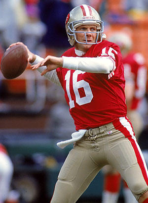 Image result for joe montana san francisco 49ers
