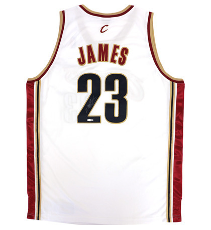 best service 3246b 5eaa8 Charitybuzz: Authentic 2008 Signed LeBron James Cleveland ...