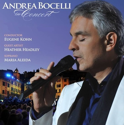 Charitybuzz Meet Andrea Bocelli The World 39 S Most Beloved Tenor With 2 Lot 679605