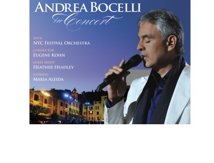 Charitybuzz 4 Tickets To See Andrea Bocelli Perform At Msg On Decembe Lot 694703