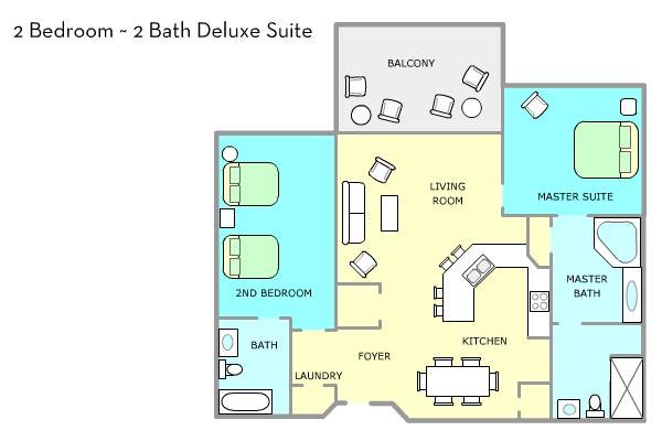 Wyndham Bonnet Creek Floor Plans 2 Bedroom Floor Matttroy