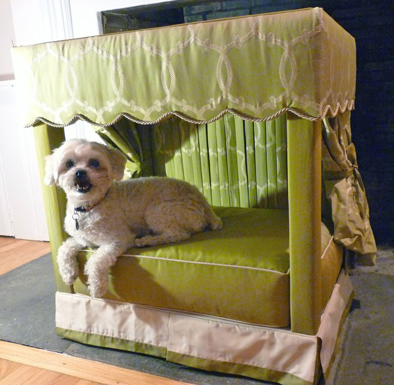Detail & Charitybuzz: Exclusive Four Poster Pet Bed by Designer James ...