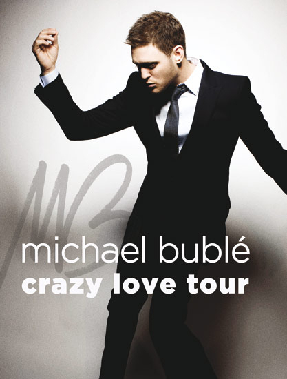 Charitybuzz enjoy two vip tickets to michael bubles crazy love detail m4hsunfo