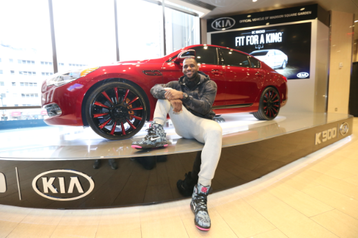 Own This One-of-a-Kind, LeBron James Customized 2015 Kia ... - Lot 783700