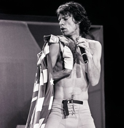 Charitybuzz Mick Jagger 1981 Print Signed By Mark Weiss