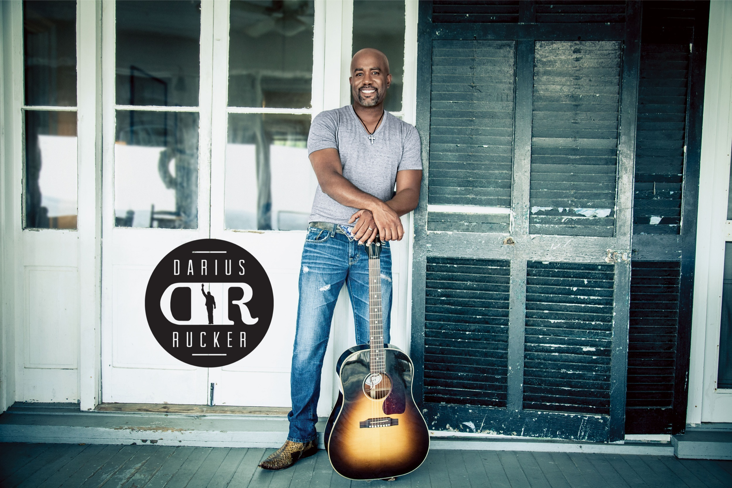 Charitybuzz Darius Rucker Signed Ampamp Personalized Guitar