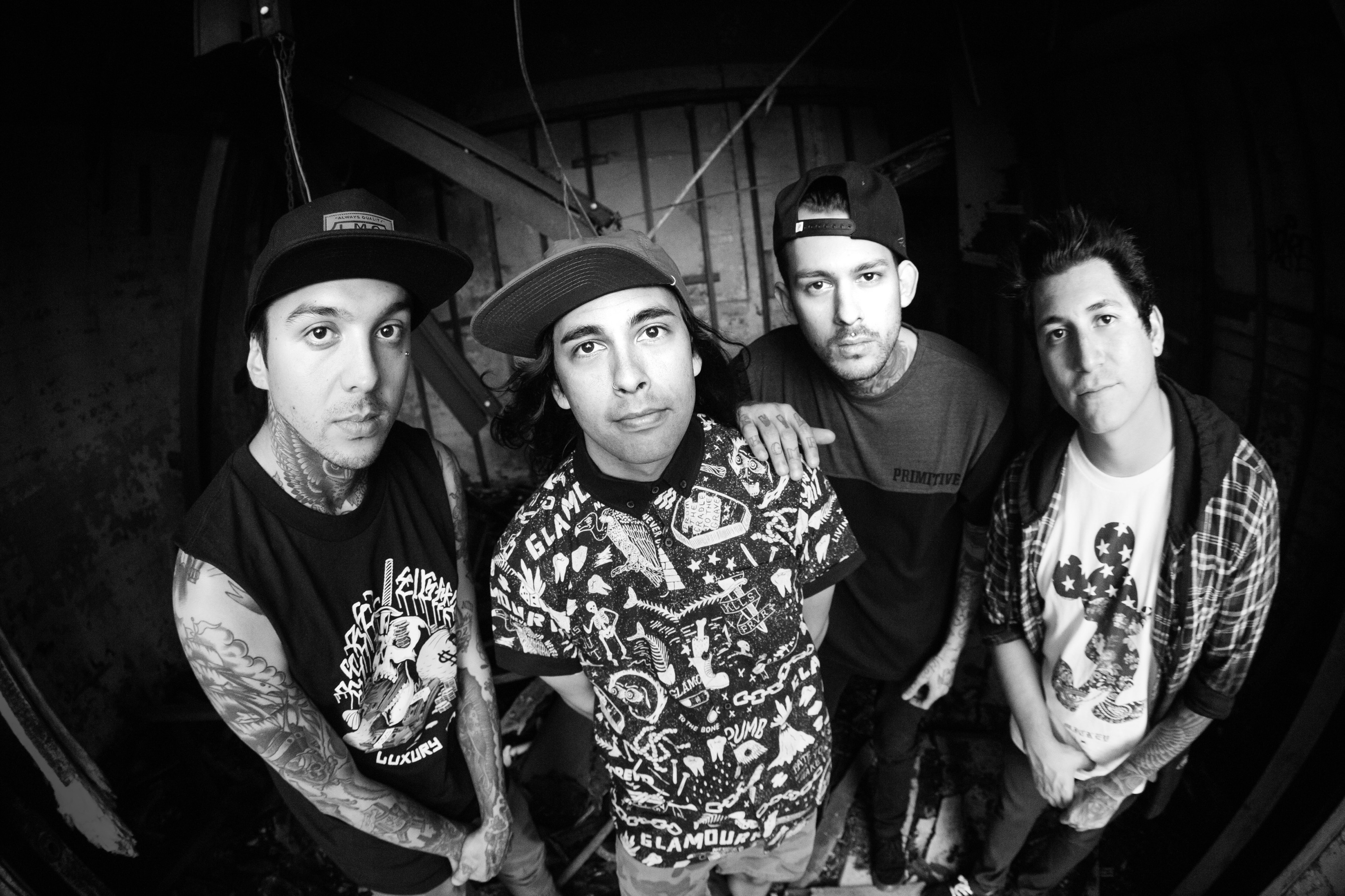 Charitybuzz meet pierce the veil at warped tour 2015 including 2 original m4hsunfo