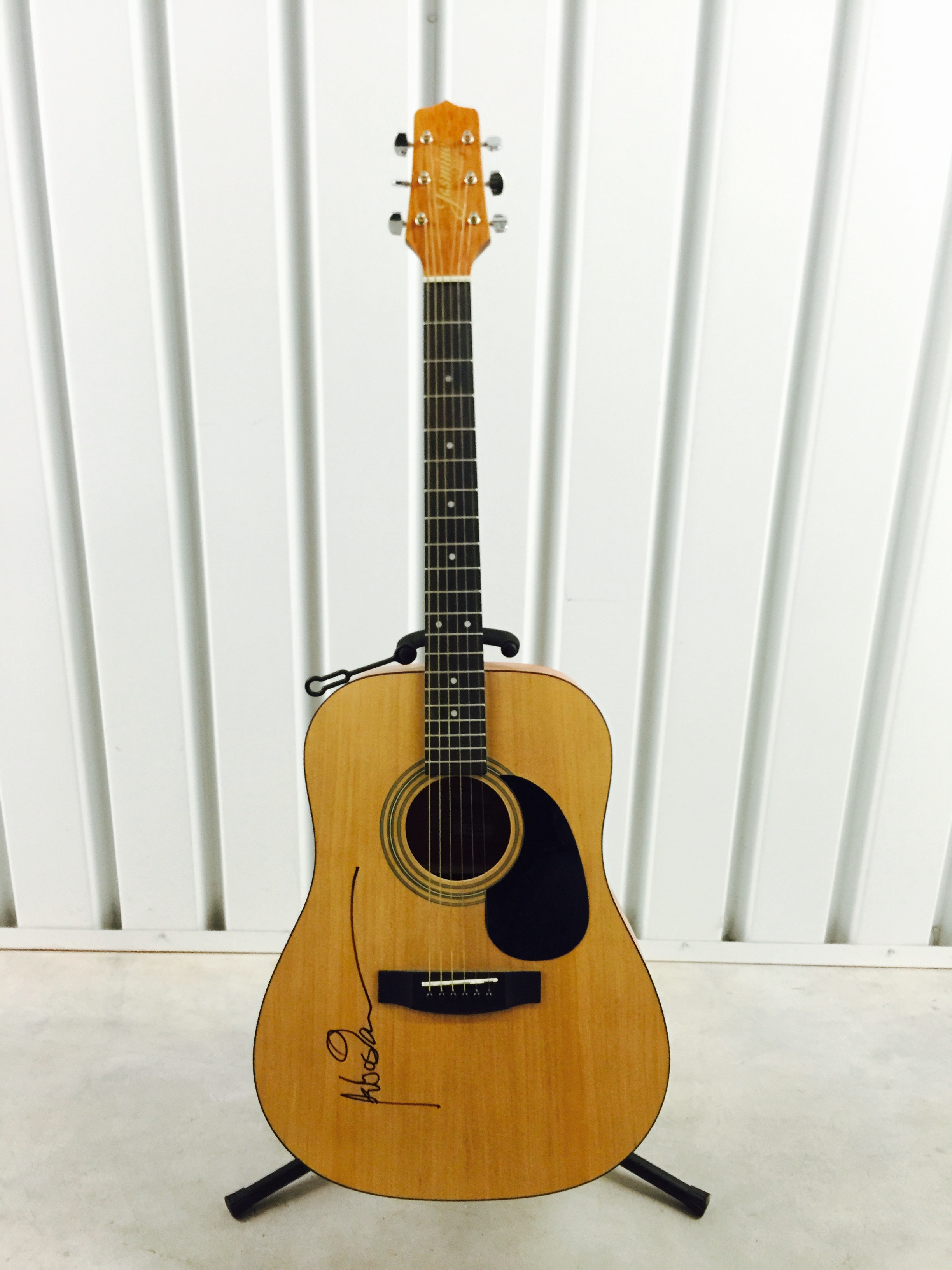 charitybuzz sebastian bach takamine jasmine autographed guitar lot 861103. Black Bedroom Furniture Sets. Home Design Ideas