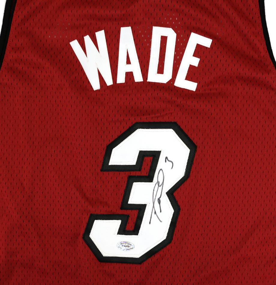 reputable site d9fda adffc Charitybuzz: Dwyane Wade Signed Miami Heat Jersey - Lot 875615