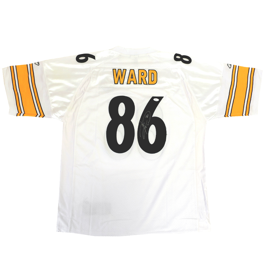Hines Ward Signed Pittsburgh Steelers Jersey     - Charitybuzz