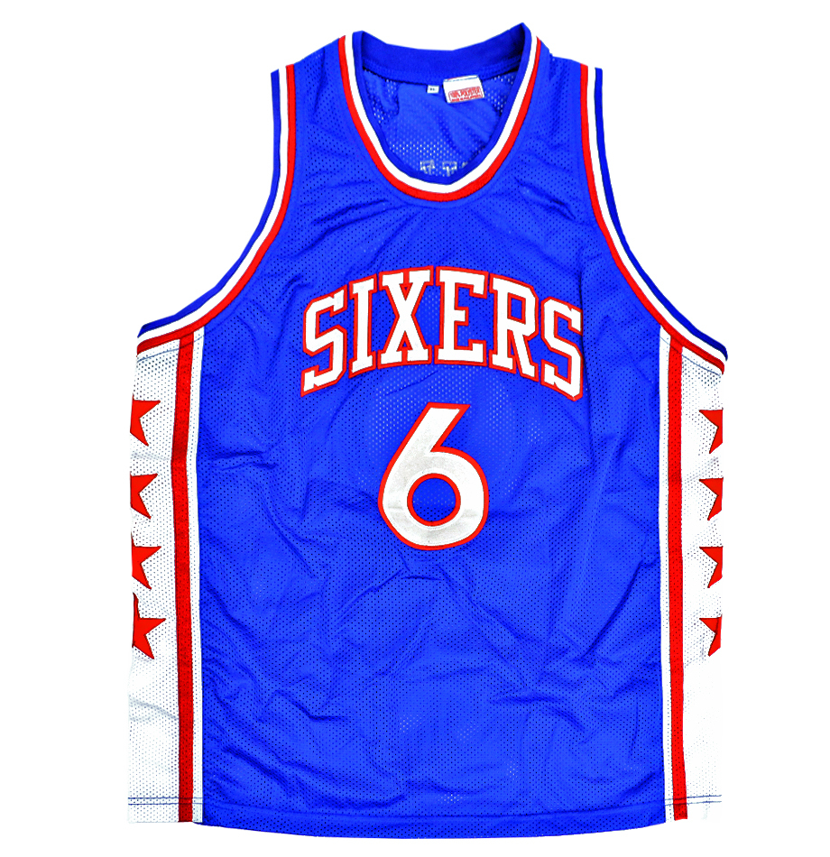 5cc0a5fde Julius Erving Signed Philadelphia Sixers Throwback Jersey Inscribed