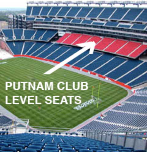 Charitybuzz 2 Tickets In The First Row Of The Putnam Club